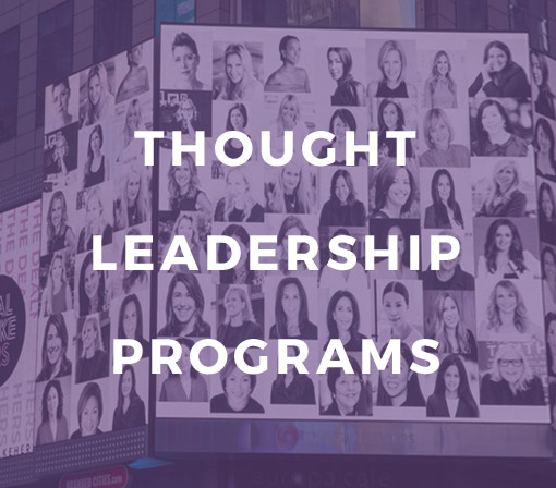 Thought Leadership Programs